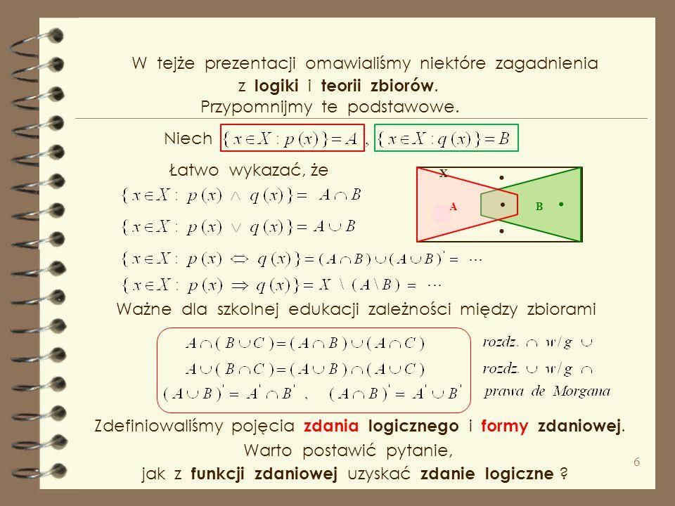 Prawa strona może być ujemna lub dodatnia Równanie nie ma rozwiązania.