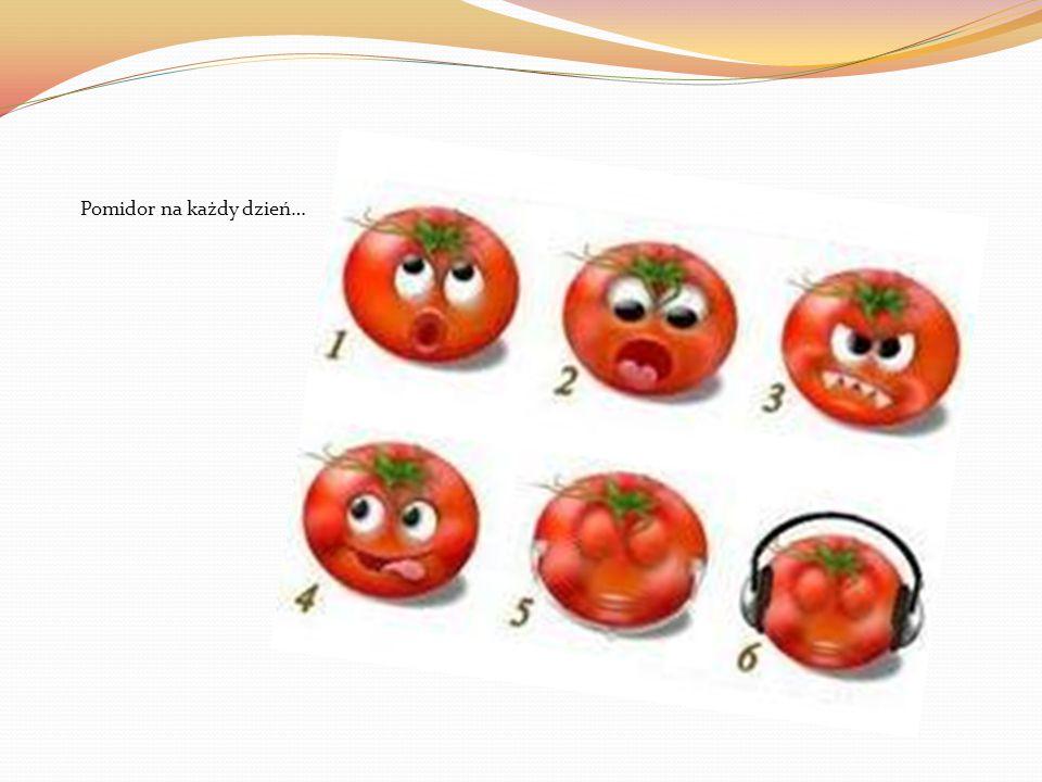 Piękno w pomidorach dostrzega każdy z nas.