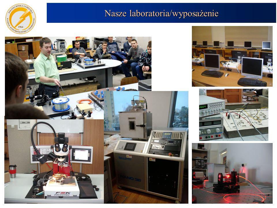 Nasze laboratoria/wyposażenie