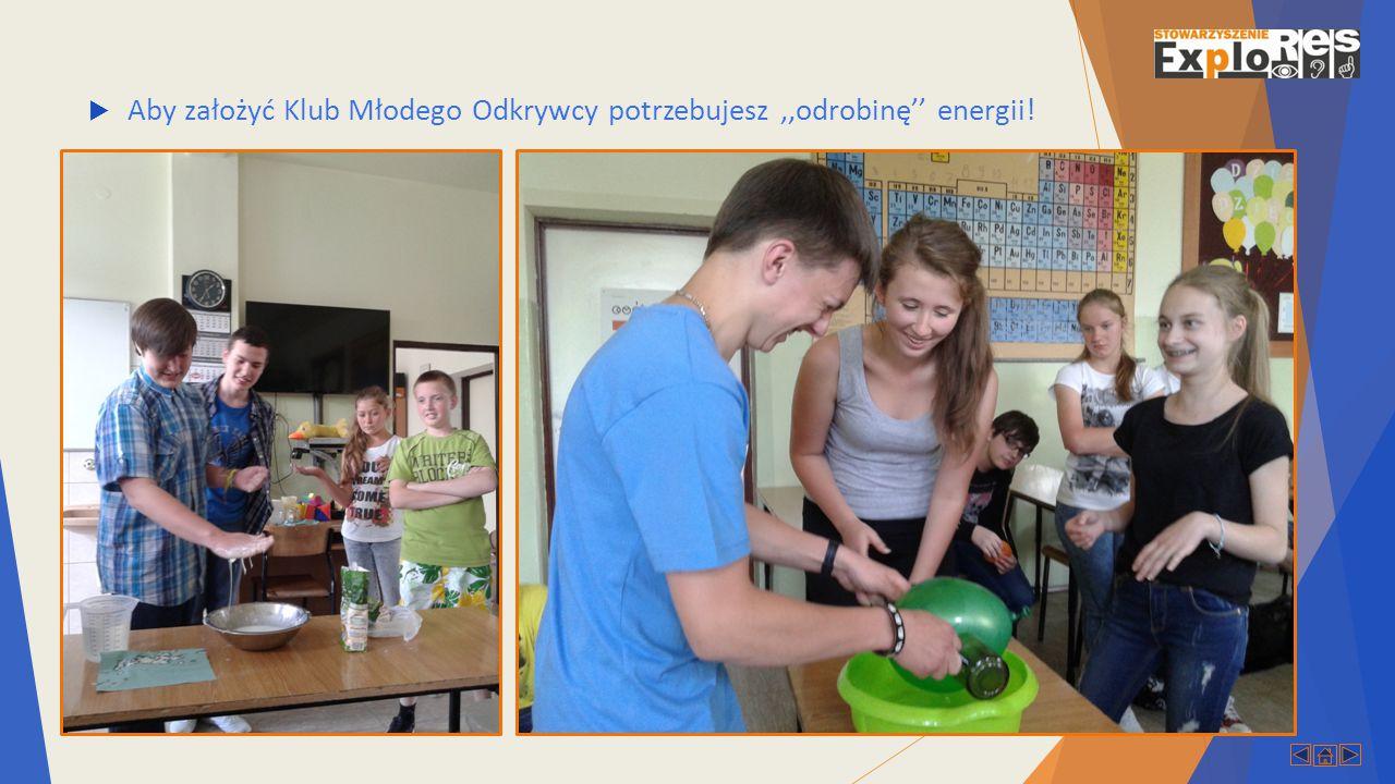  Dla Opiekunów KMO co roku organizowane jest dwudniowe Forum Klubów Młodego Odkrywcy.
