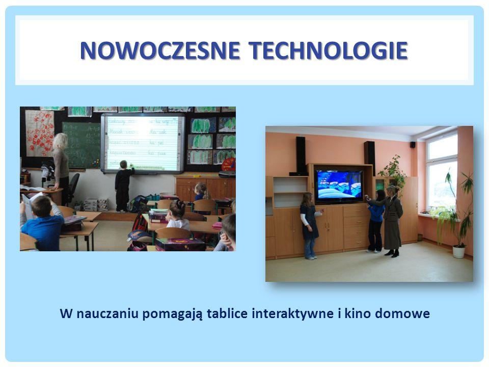 NOWOCZESNE TECHNOLOGIE W nauczaniu pomagają tablice interaktywne i kino domowe