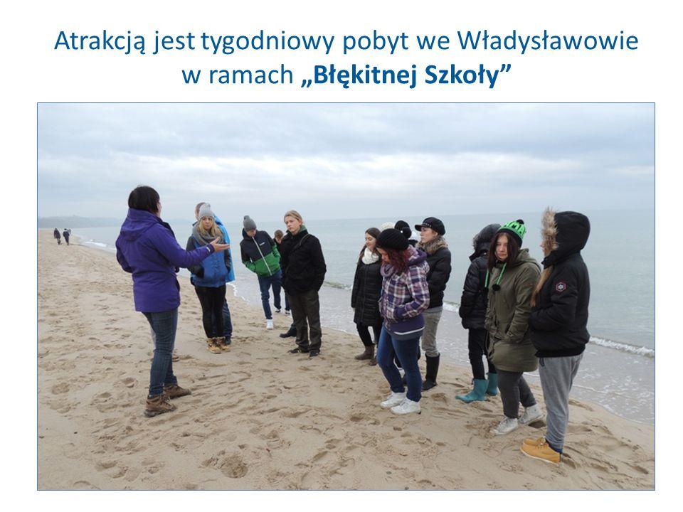 """Atrakcją jest tygodniowy pobyt we Władysławowie w ramach """"Błękitnej Szkoły"""""""