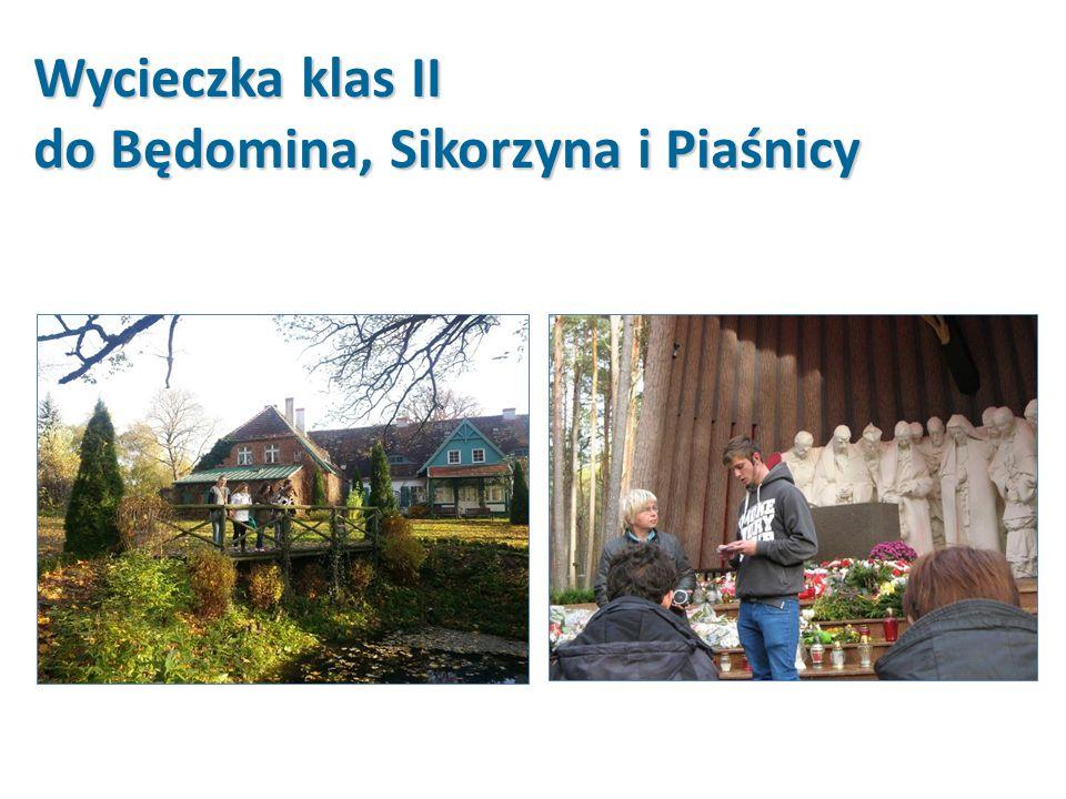 Wycieczka klas II do Będomina, Sikorzyna i Piaśnicy