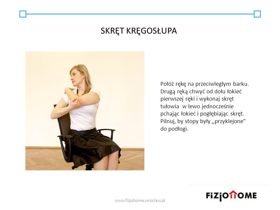 WARTO ZAPAMIĘTAĆ www.fizjohome.wroclaw.pl Rozluźnienie potrzebne jest zawsze - nawet kiedy na nic aktualnie nie narzekamy i nic nas nie boli.