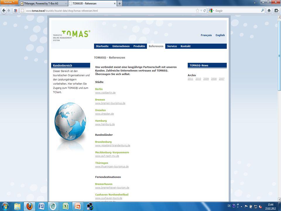System rezerwacji TOMAS