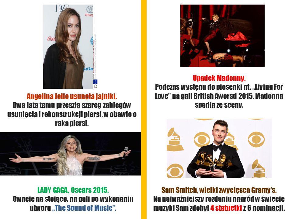 Angelina Jolie usunęła jajniki.