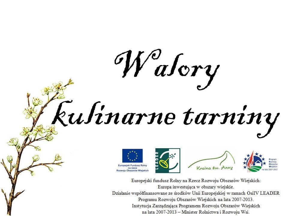 Walory kulinarne tarniny