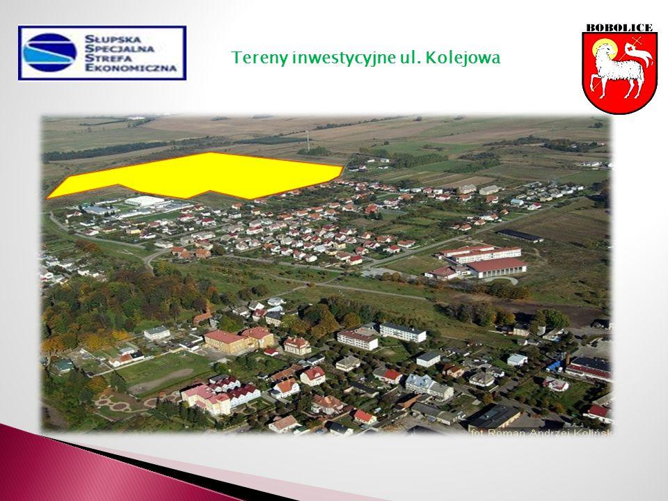 Tereny inwestycyjne ul. Kolejowa