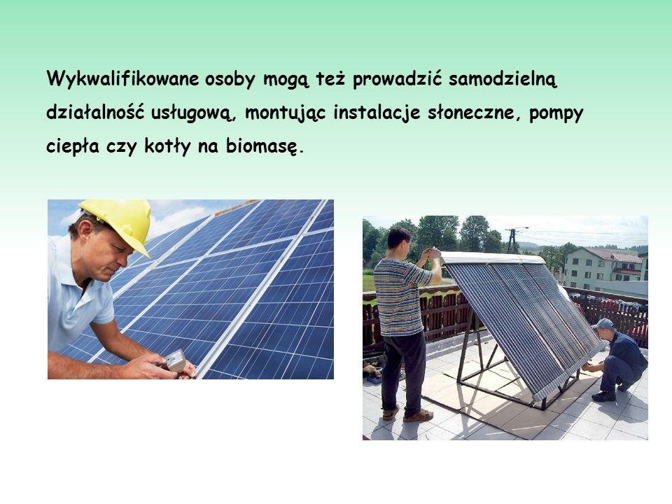 Energia słońca Pasywną energię słoneczną można wykorzystywać bezpośrednio do ogrzewania budynków o nowoczesnej konstrukcji.