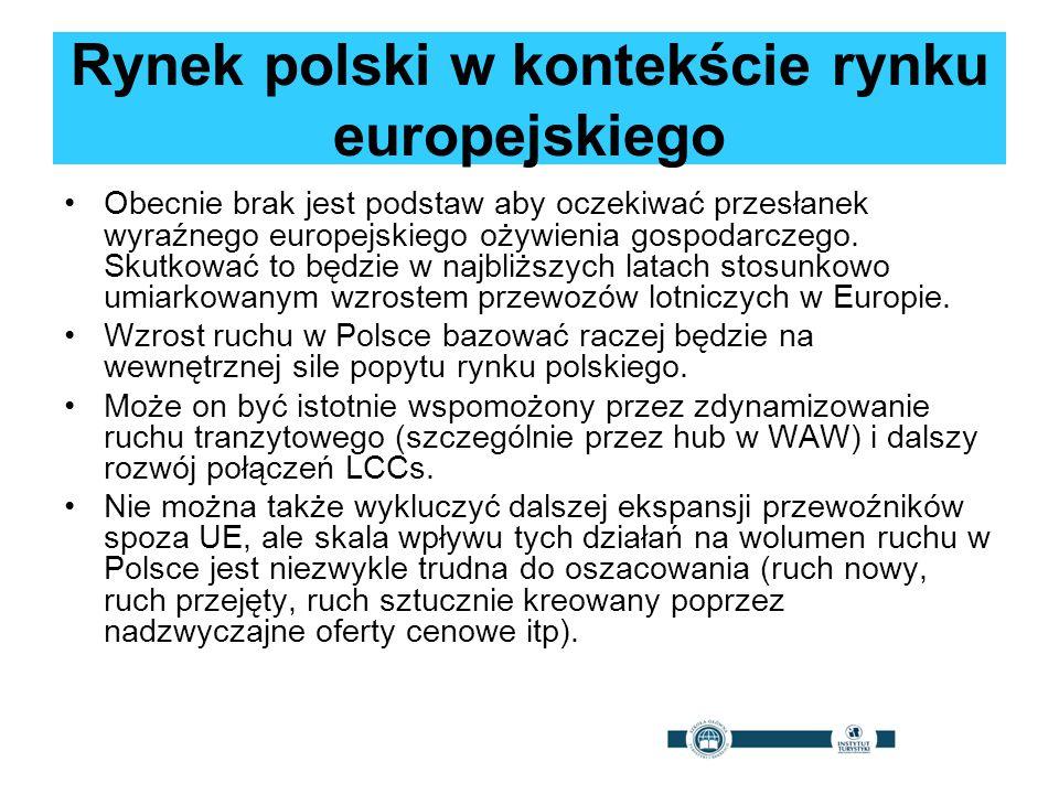 Rynek polski w kontekście rynku europejskiego Obecnie brak jest podstaw aby oczekiwać przesłanek wyraźnego europejskiego ożywienia gospodarczego. Skut