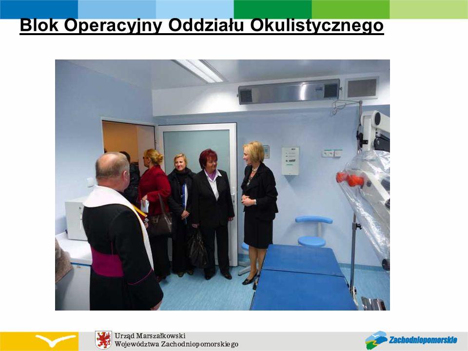 Blok Operacyjny Oddziału Okulistycznego
