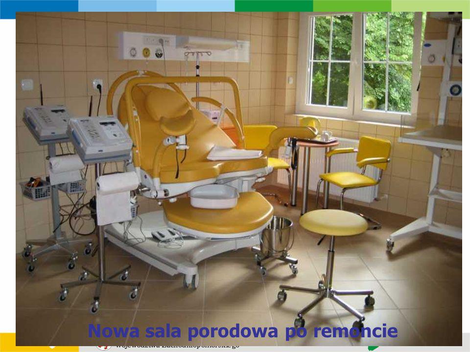 Nowa sala porodowa po remoncie