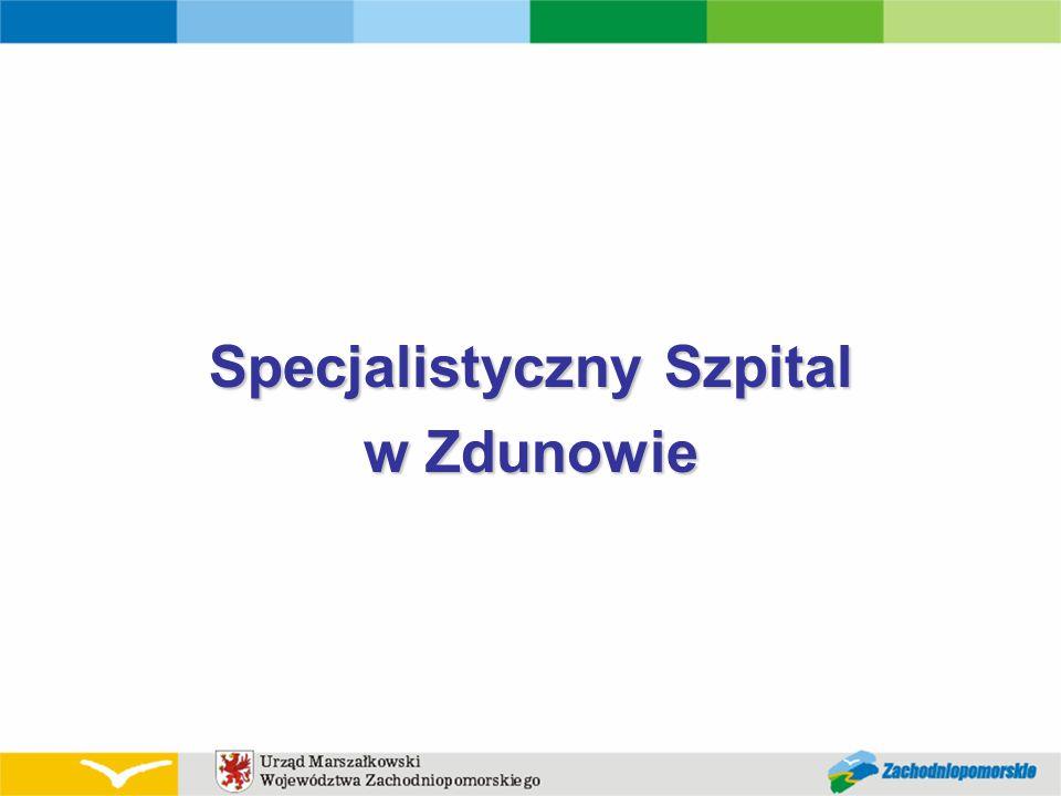 Specjalistyczny Szpital w Zdunowie