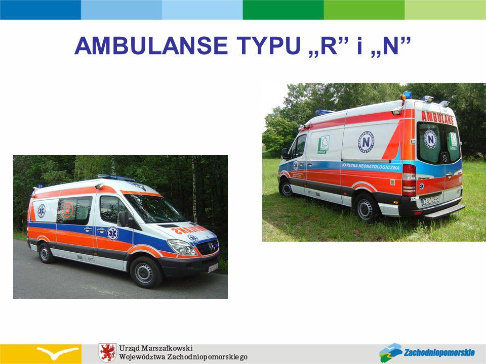 "AMBULANSE TYPU ""R"" i ""N"""