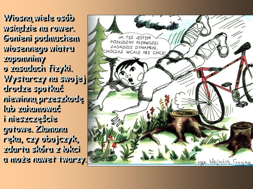 Wiosną wiele osób wsiądzie na rower.