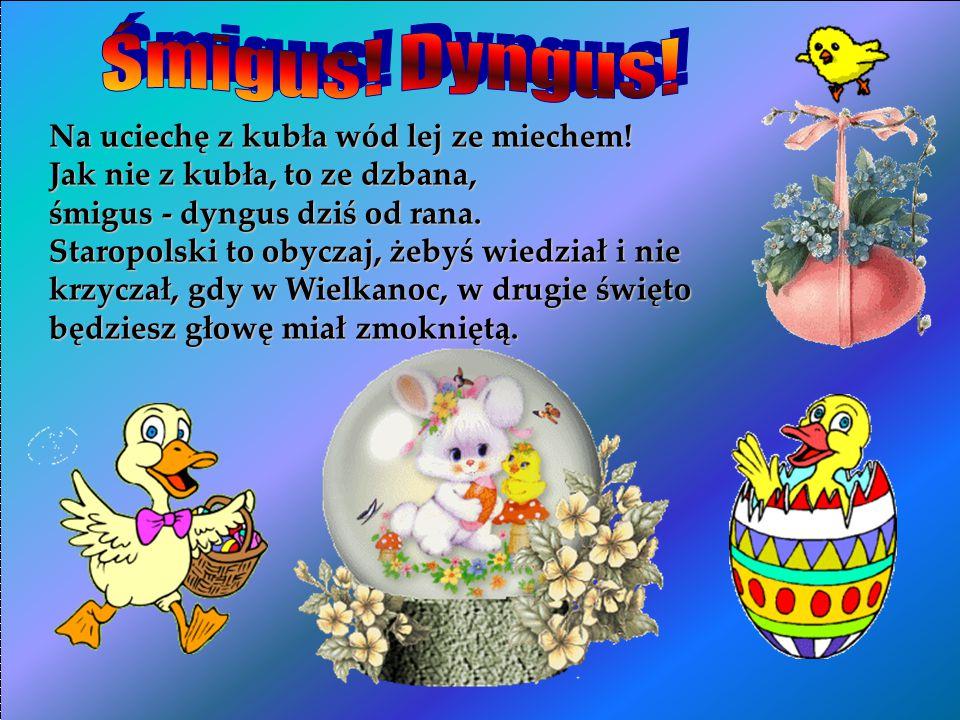 Smacznej szynki i jajeczka w ten świąteczny ranek, a w koszyczku wielkanocnym samych niespodzianek.