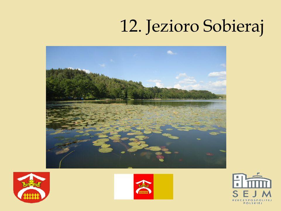 12. Jezioro Sobieraj