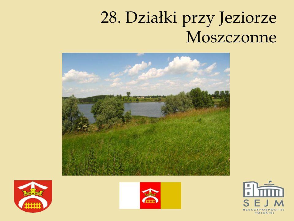28. Działki przy Jeziorze Moszczonne