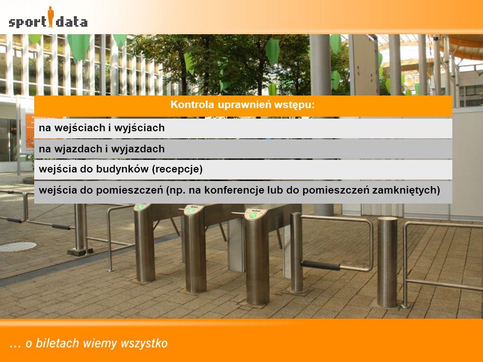 na wejściach i wyjściach na wjazdach i wyjazdach wejścia do pomieszczeń (np. na konferencje lub do pomieszczeń zamkniętych) wejścia do budynków (recep