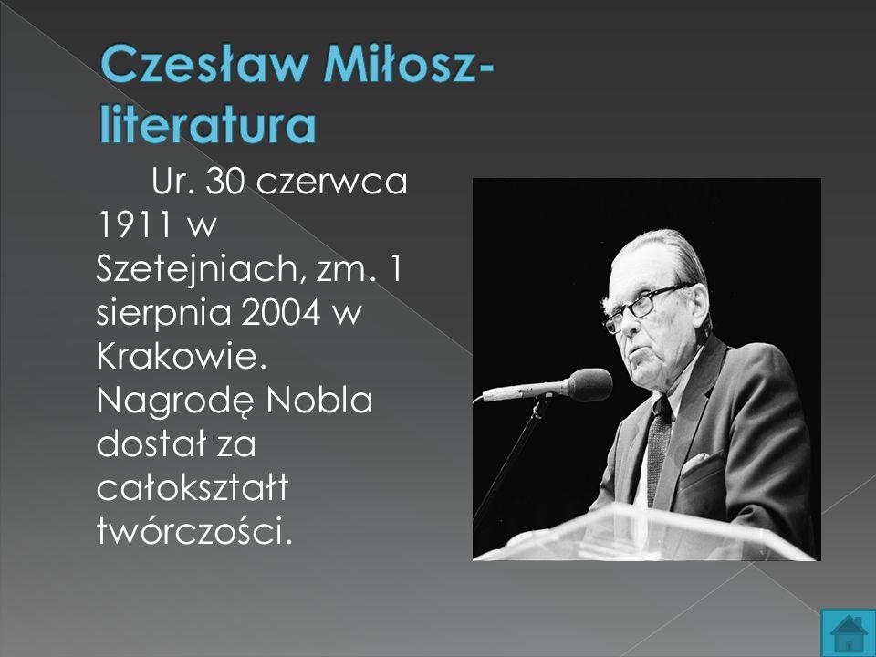 Ur.30 czerwca 1911 w Szetejniach, zm. 1 sierpnia 2004 w Krakowie.