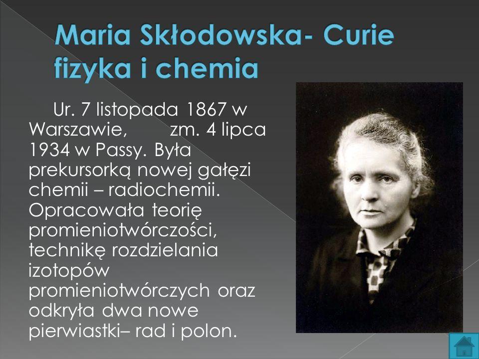 Ur.7 listopada 1867 w Warszawie, zm. 4 lipca 1934 w Passy.