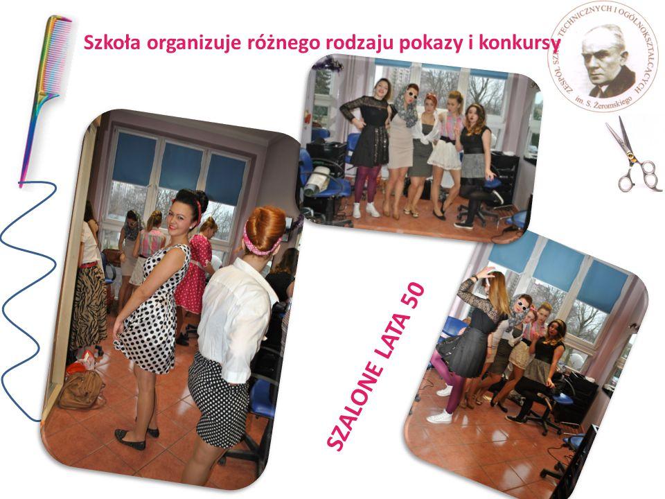 Szkoła organizuje różnego rodzaju pokazy i konkursy SZALONE LATA 50