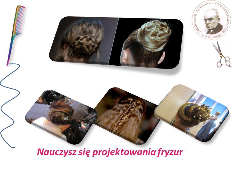 Nauczysz się projektowania fryzur