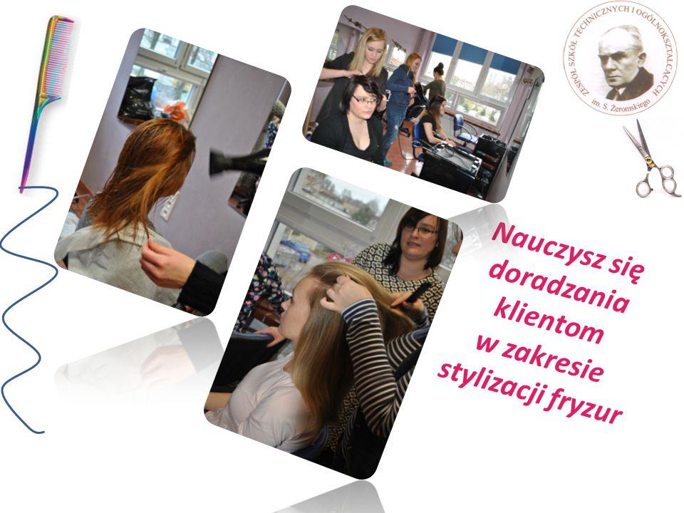 Nauczysz się doradzania klientom w zakresie stylizacji fryzur