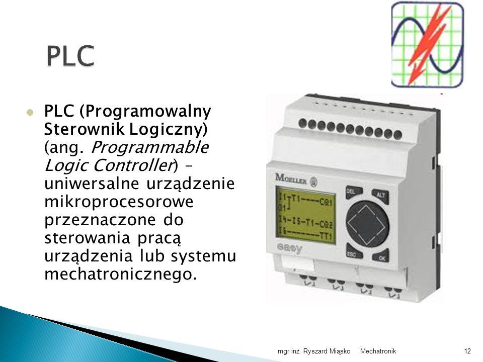 PLC (Programowalny Sterownik Logiczny) (ang.