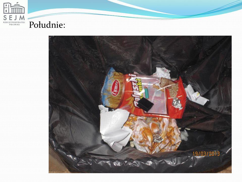 Recykling.Na produktach widujemy znaki związane z recyklingiem.