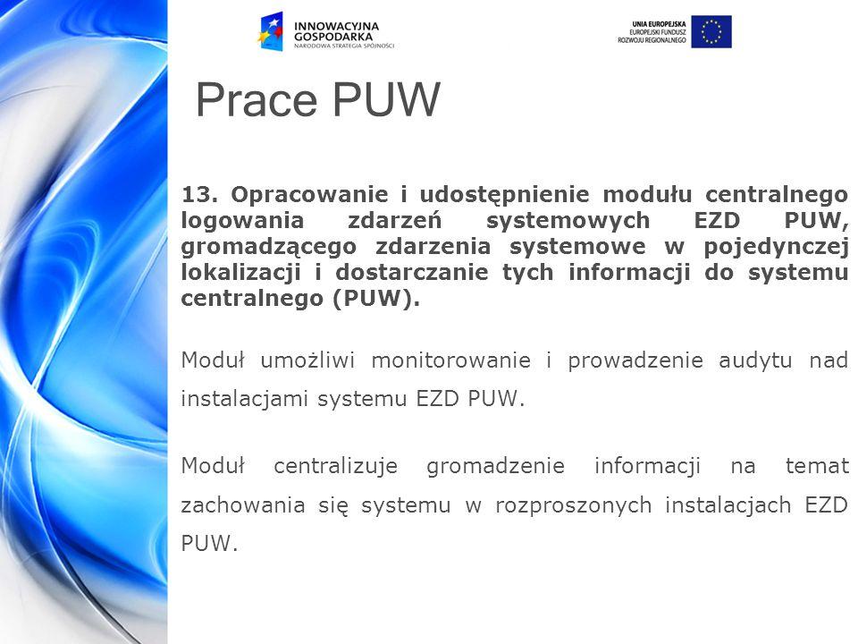 Prace PUW 13.