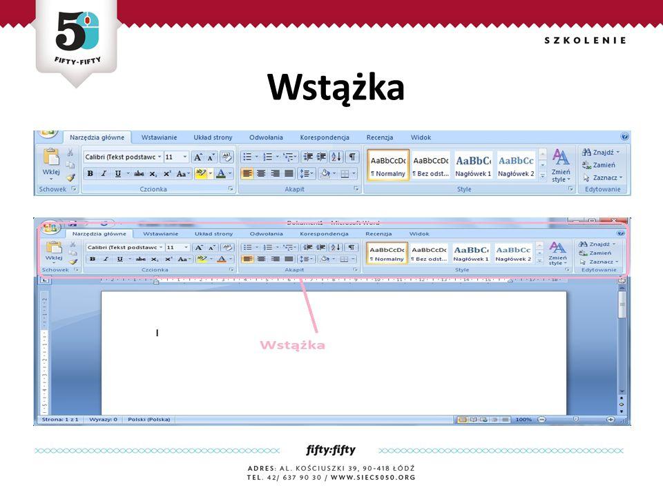Rozwiązanie ćwiczenia 4 Jest zaawansownym edytorem tekstu, który zawiera rozbudowany zestaw narzędzi do tworzenia różnego rodzaju dokumentów.