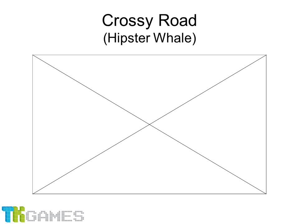 Crossy Road (Hipster Whale)