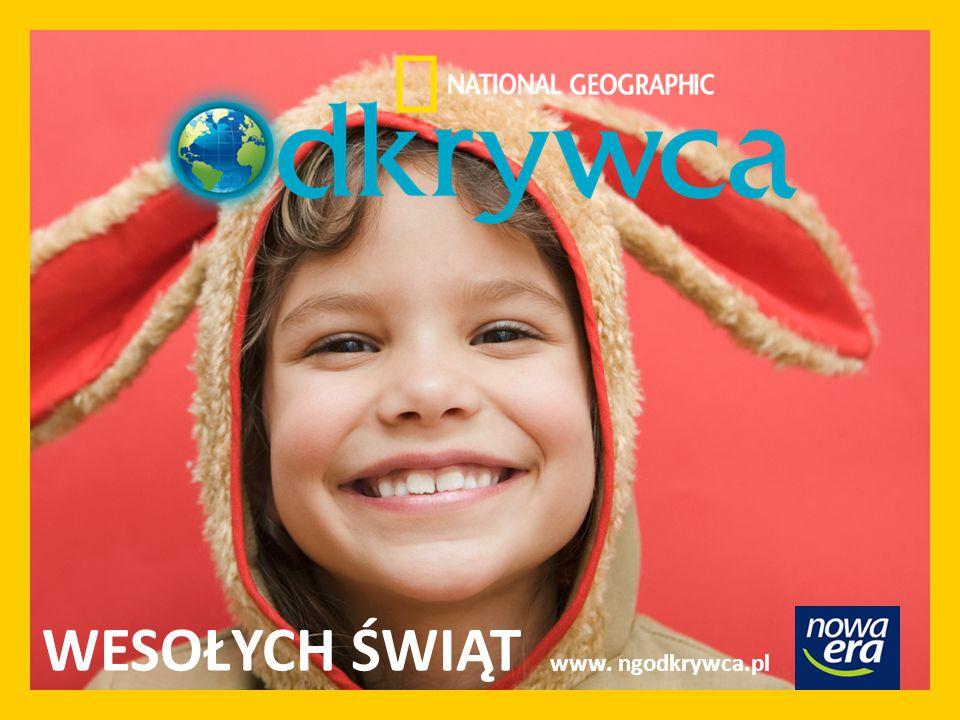 WESOŁYCH ŚWIĄT www. ngodkrywca.pl
