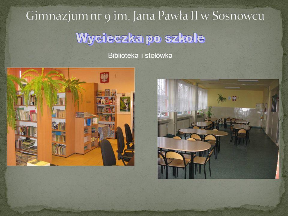 Biblioteka i stołówka