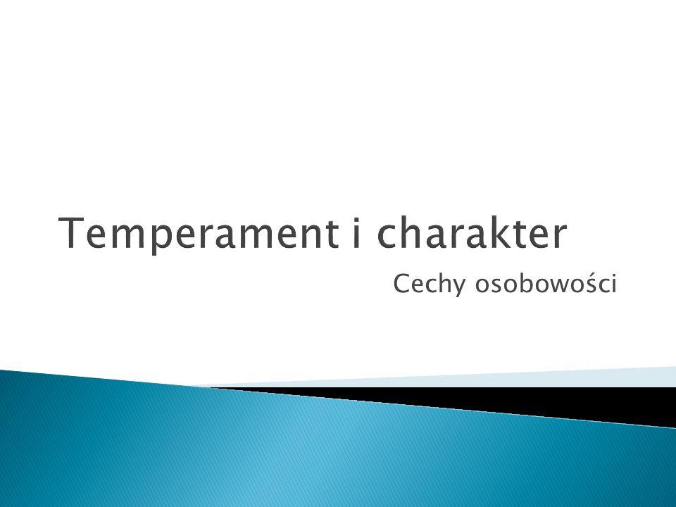 Cechy osobowości
