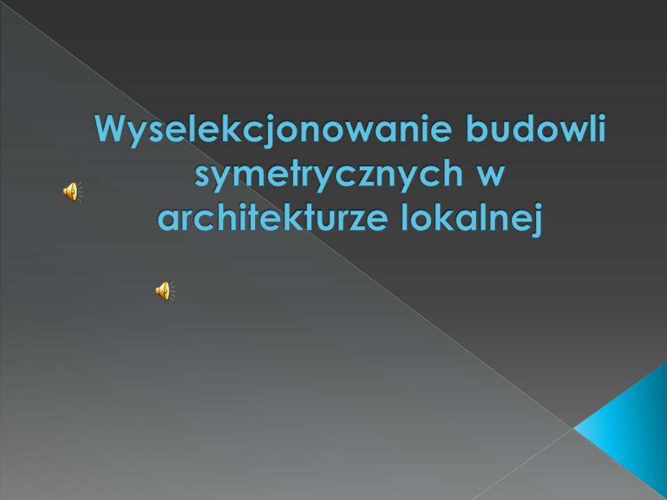  Symetria środkowa – przekształceniem jest odbicie zwierciadlane figury względem ustalonego punktu zwanego środkiem symetrii.