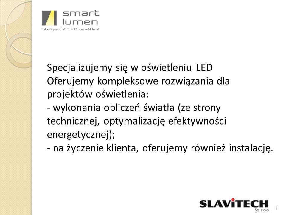 Główne zalety świateł CityLED DA - Modułowa konstrukcja z wymiennych modułów LED - Certyfikacji ENEC - Część optyczna posiada stopień ochrony IP68, jest 13 podstawowych charakterystyk, z możliwością dalszych modyfikacji - Wszystkie oprawy z możliwością sterowania (3 opcji) Pozwala to regulować wydajność - Ogólna wydajność 115 lm / W - Jako opcja, oprawy mogą być wyposażone w autonomiczne jednostki programowalne Smart Control, co zmniejsza intensywność oświetlenia w czasie małego ruchu zgodnie z programem wewnętrznym 4