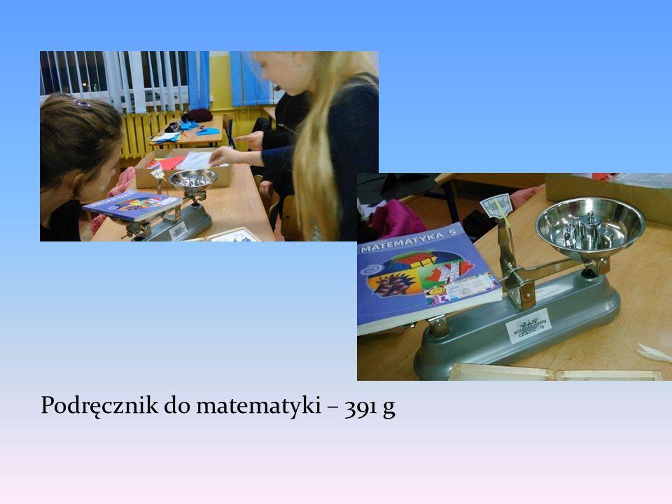 Podręcznik do matematyki – 391 g
