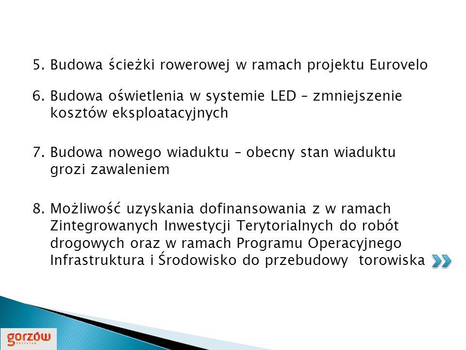 5. Budowa ścieżki rowerowej w ramach projektu Eurovelo 6.