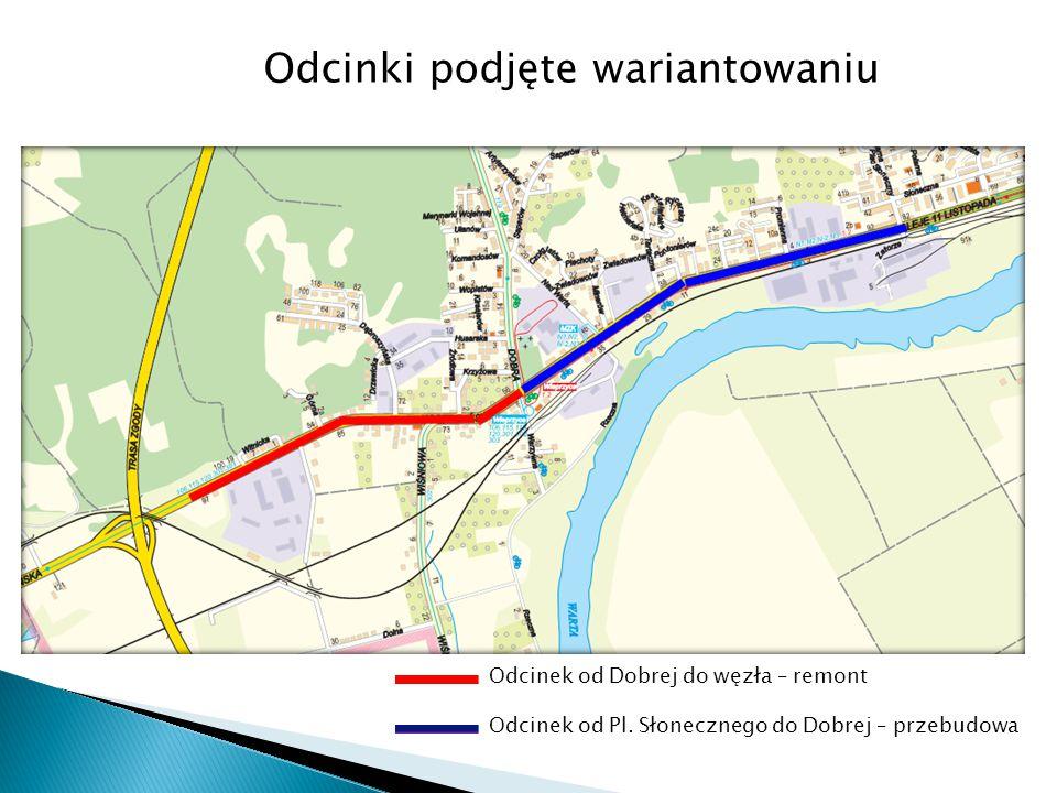 wykonanie nakładki asfaltowej na całym odcinku od Placu Słonecznego do węzła S3 Wykonanie nakładki asfaltowej obejmuje roboty: 1.