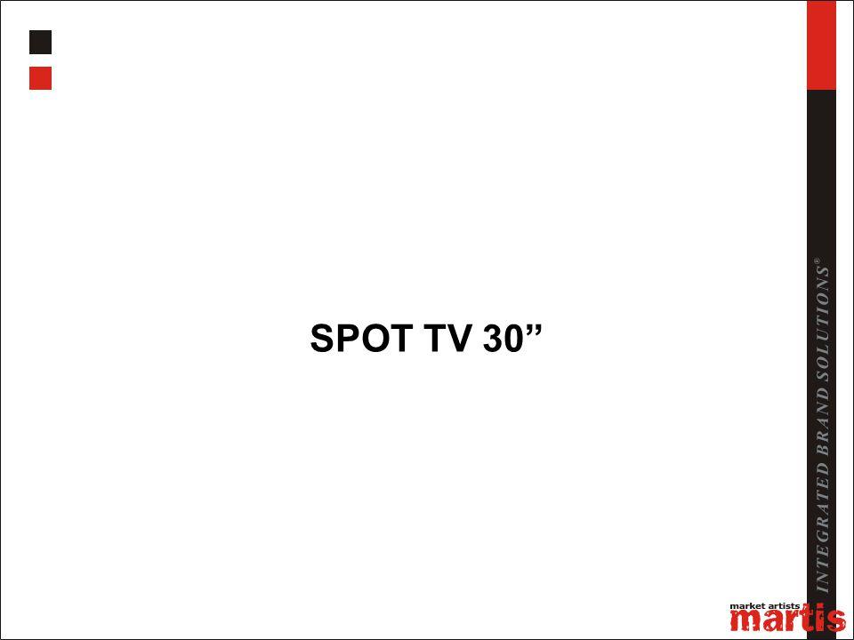 """SPOT TV 30"""""""