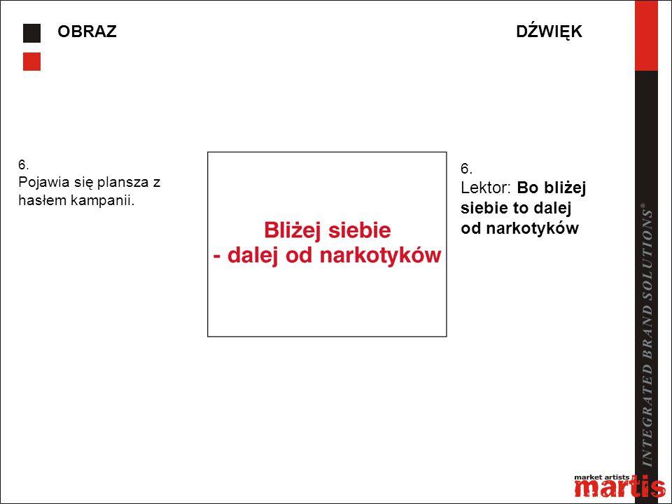 OBRAZDŹWIĘK 7.Pojawia się plansza z logo adresem strony i numerem infolinii.