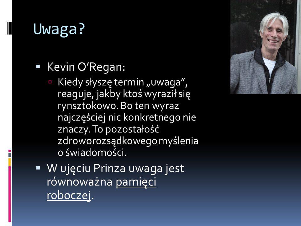 """Uwaga. Kevin O'Regan:  Kiedy słyszę termin """"uwaga , reaguje, jakby ktoś wyraził się rynsztokowo."""
