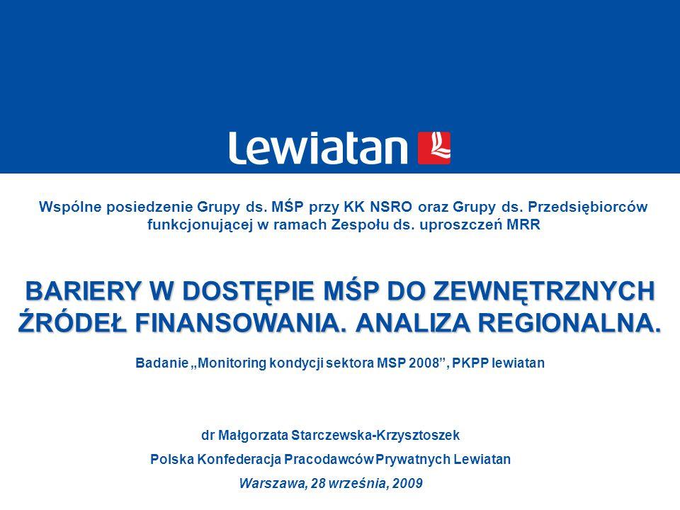 Wspólne posiedzenie Grupy ds. MŚP przy KK NSRO oraz Grupy ds. Przedsiębiorców funkcjonującej w ramach Zespołu ds. uproszczeń MRR dr Małgorzata Starcze