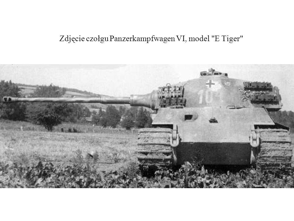 Zdjęcie czołgu Panzerkampfwagen VI, model E Tiger