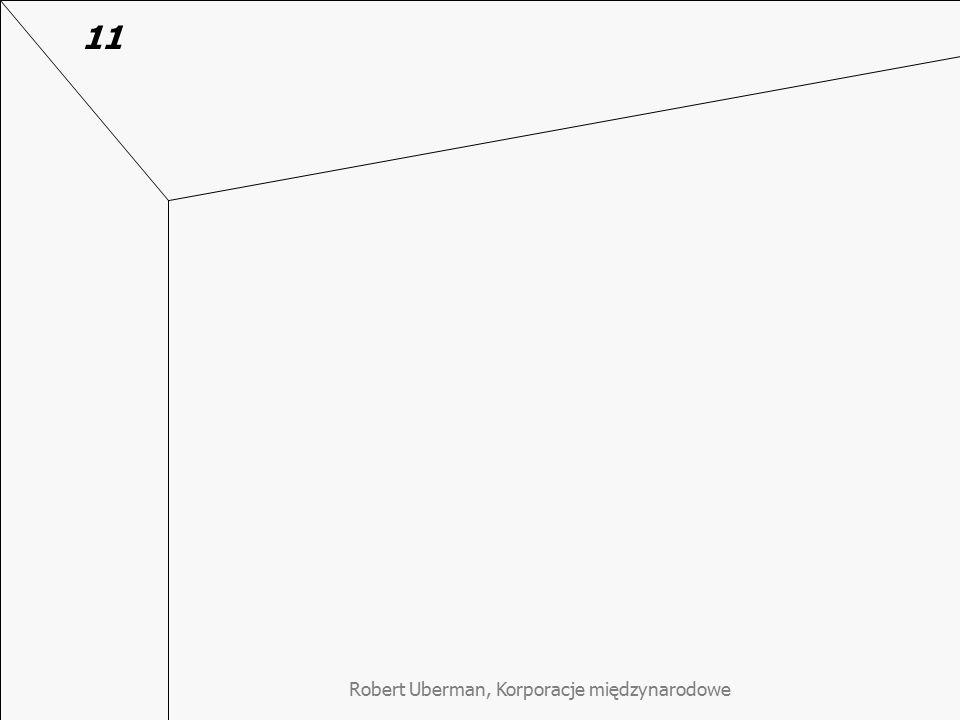 Robert Uberman, Korporacje międzynarodowe 11