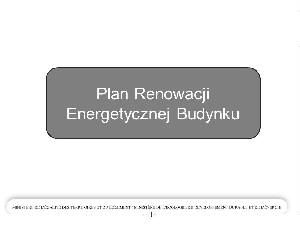 Plan Renowacji Energetycznej Budynku - 11 -