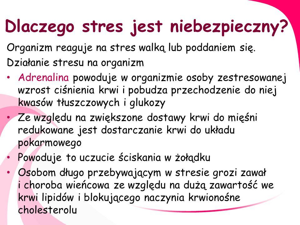 Stres W walce ze stresem pomagają również nasi czworonożni przyjaciele.