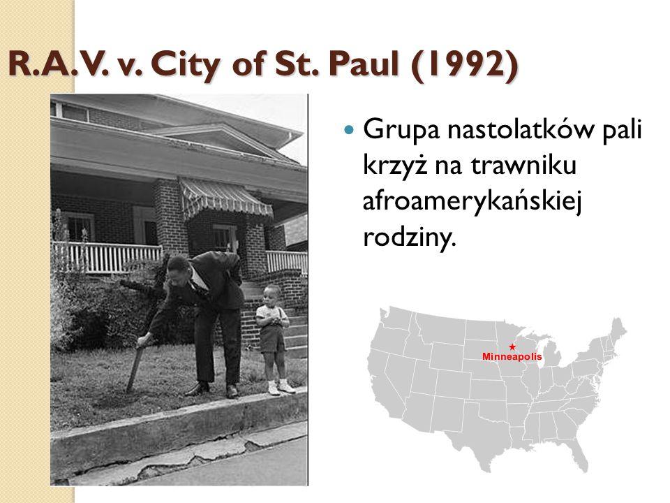 R.A.V. v. City of St.